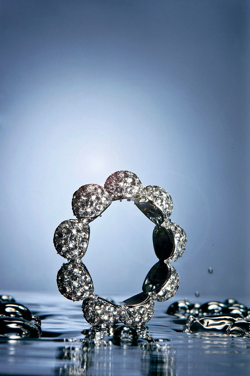 Bodil Binner Goldsmith ring diamond