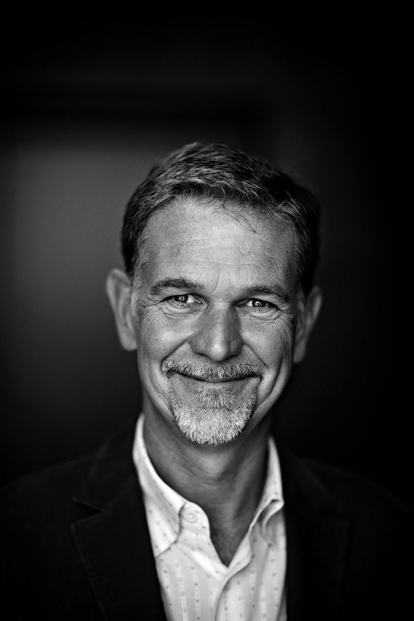 CEO Reed Hastings Netflix