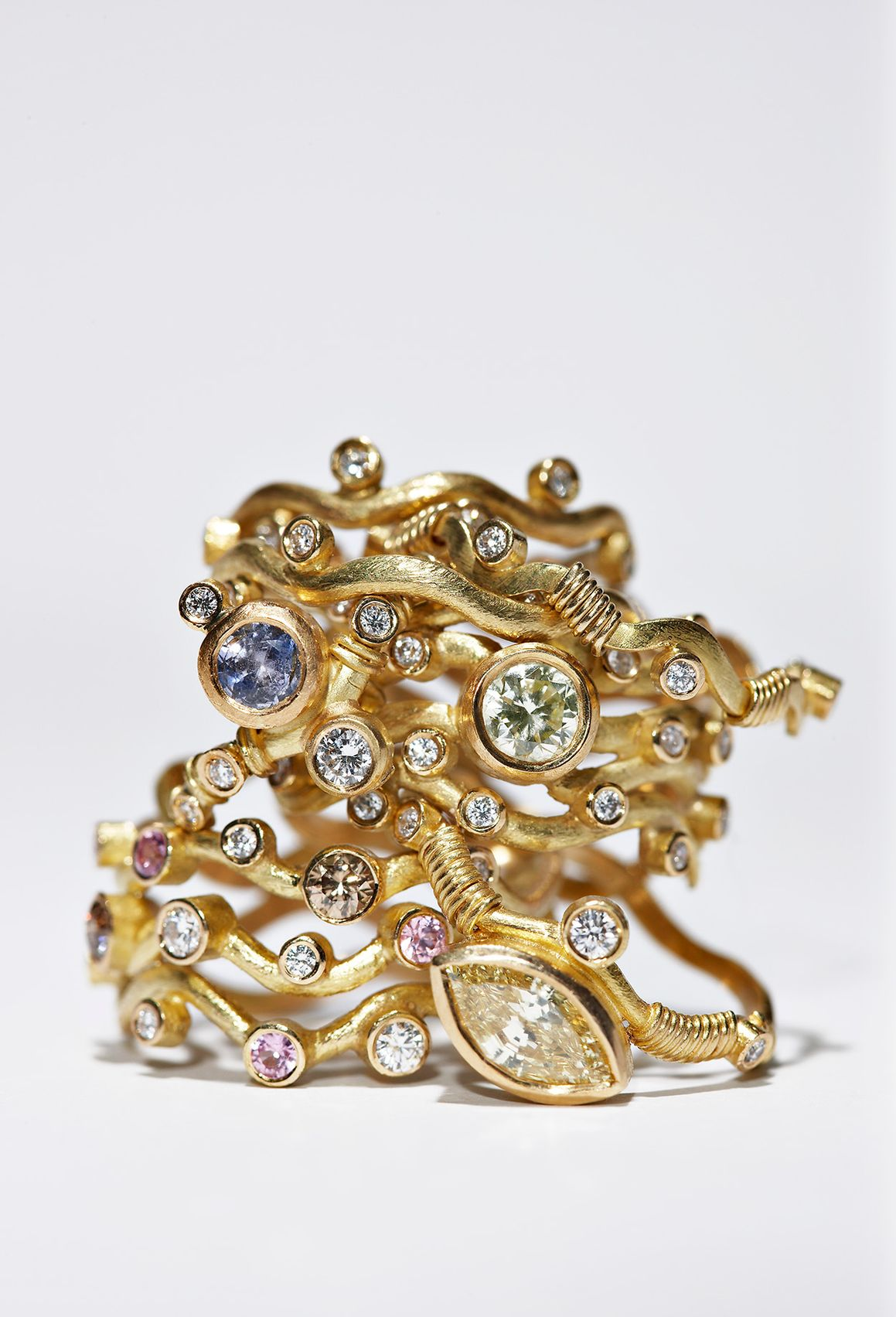 Louise Grønlykke jeweler gold rings