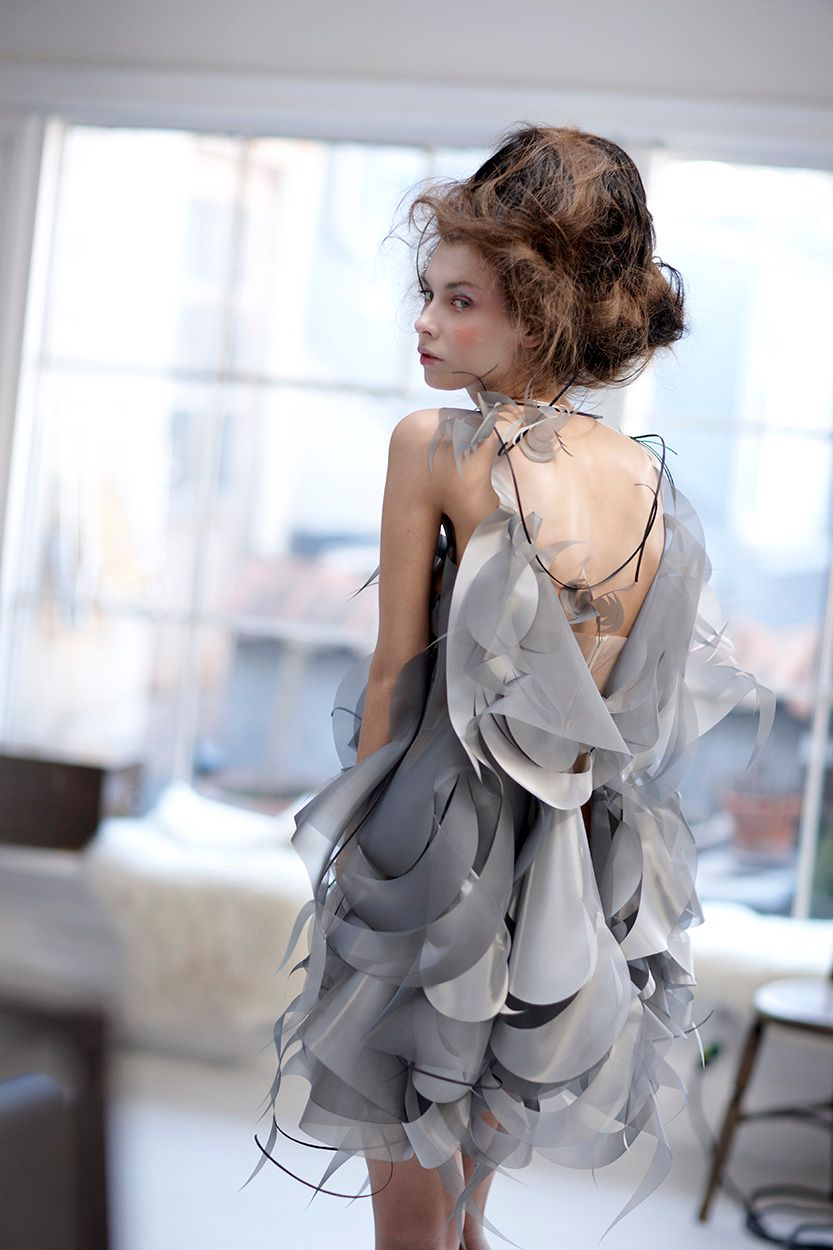 Designer Anne Damgaard fashion tekstile art